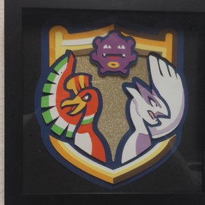 "Pokemon 8"" × 8"" Shadow Box - Smogon University picture"