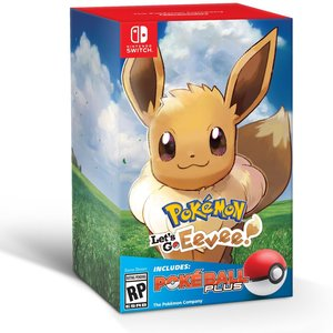 Pokemon Let's Go Eevee + Poke Ball Plus picture