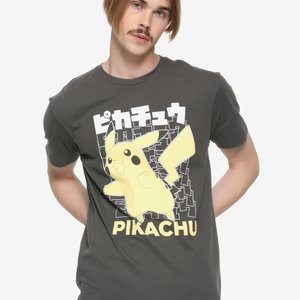 Pokemon Pikachu Katakana T-Shirt picture