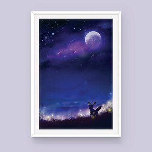 Pokemon Umbreon Poster: Nightfall picture
