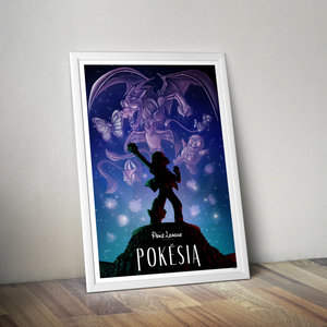 Pokésia - Pokemon Wall Art picture