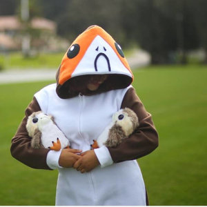 Porg onesie for adults picture
