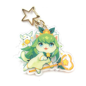 Purr Guardian Lulu Keychain picture