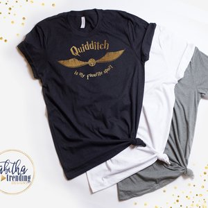 Quidditch Is My Favorite Sport shirt picture