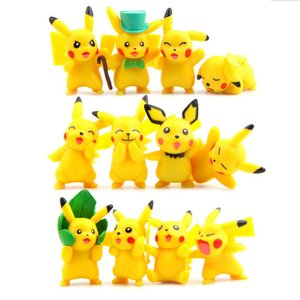 Set of 12 Pikachu figures picture