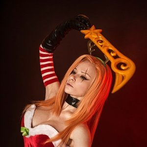 Slay Belle Katarina cosplay from League of Legends picture