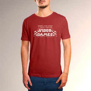 Sorry For What I Said During Video Games t-shirt picture