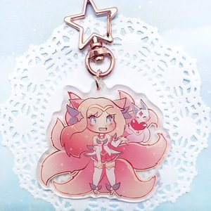 Star Guardian Glitter Charm: Ahri picture