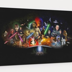 Star Wars Characters Wall Art picture