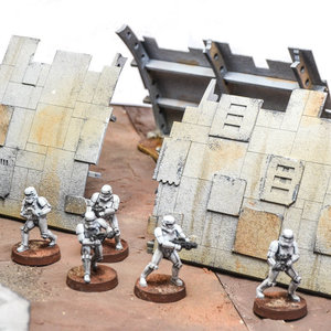 Star wars Legion terrain: Spaceship Wreckage picture