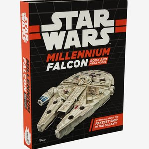 Star Wars Millennium Falcon Book And Mega Model picture