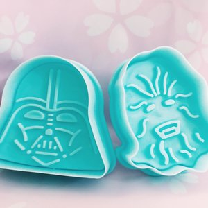 Star Wars Plunger Style Cookie Cutter Set picture