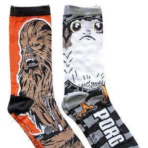 Star Wars Porg and Chewbacca Socks picture