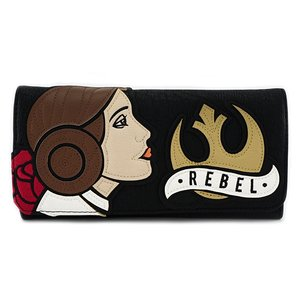 Star Wars Princess Leia Rebel Trifold Wallet picture