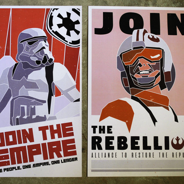 Star Wars Recruitment Posters Geek Beholder