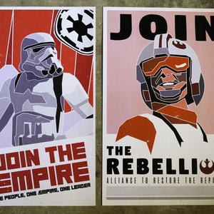 Star Wars Recruitment Posters picture