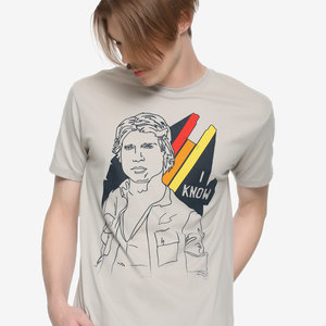 Star Wars Solo I Know T-Shirt picture