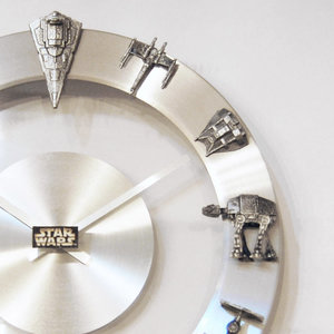 Star Wars Starships and Fighters Clock picture