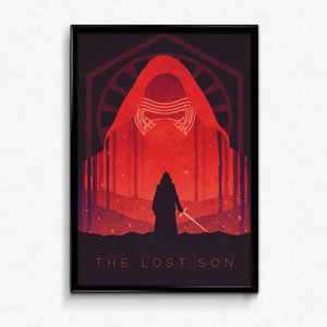 Star Wars The Force Awakens Kylo Ren Poster Print picture