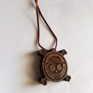 Straw Hat Pirates logo - One Piece Pendant Necklace picture
