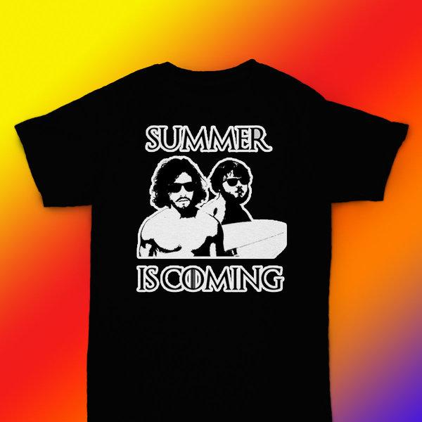 5ec0aedaf177 Summer is Coming - GoT parody t-shirt