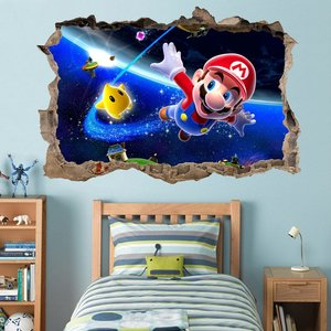 Super Mario 3D Wall Decal Sticker picture