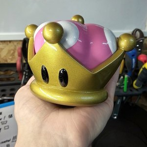 Super Mario Bowsette crown picture