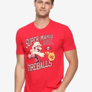 Super Mario Bros. Fireball Pitch T-Shirt picture