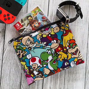 Super Mario cosmetic bag picture