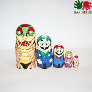 Super Mario Nesting dolls picture