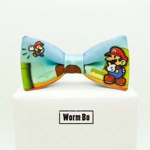 Super Mario Paper bow tie picture