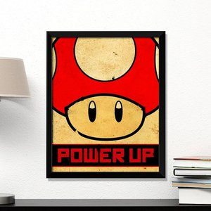 "Super Mario ""Power Up"" poster picture"