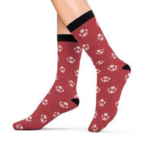 Super Mario's Mushroom Cushion Socks picture