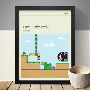 Super Mario World Gaming Print picture