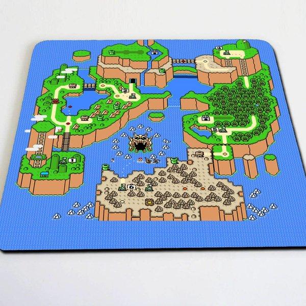 Super Mario World map mousepad   Geek Beholder