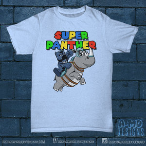 Super Panther t-shirt picture