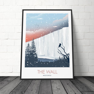 The Wall - Game of Thrones Minimalist Poster picture