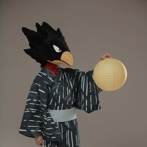 Tokoyami Fumikage cosplay from My hero Academia picture