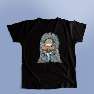 Totoro on the Iron Throne t-shirt picture