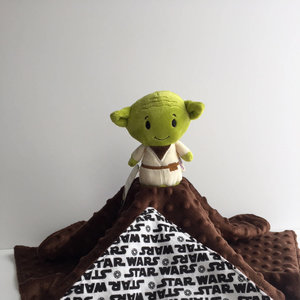Star Wars Yoda Lovey Blanket picture