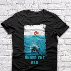 Under the Sea - Little Mermaid parody t-shirt picture