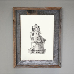 Weasley House: The Burrow - Harry Potter Print picture