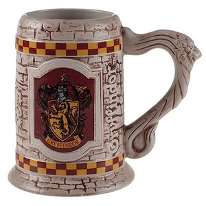 Sculpted Ceramic Gryffindor Stein Mug Cup picture