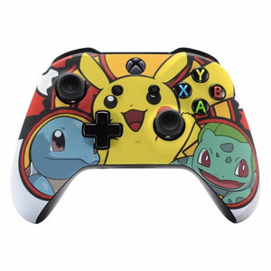 Xbox One wireless controller with custom Pokemon shell picture