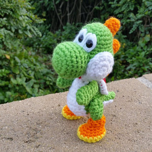 Yarn Yoshi from Yoshi's Wooly World picture